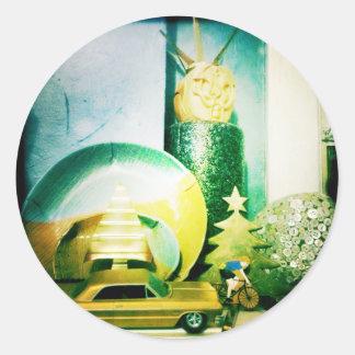 Ornamentalist Round Sticker