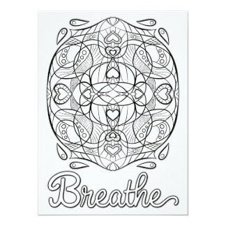 OrnaMENTALs Breathe Color Your Own Card