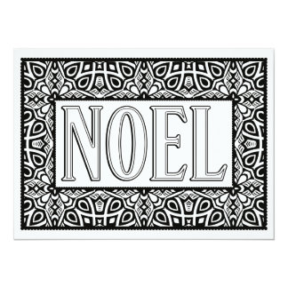 """OrnaMENTALs Noel """"Star Bright"""" Color Your Own Card"""