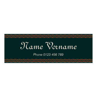 Ornamentations Pack Of Skinny Business Cards