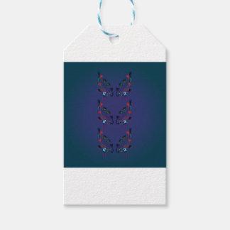 Ornamentos FOLK BLUE / Original illustration Gift Tags