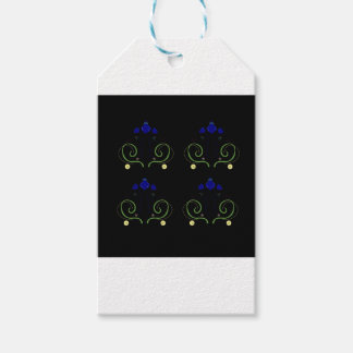 Ornaments black. Original kids tshirts and more. Gift Tags
