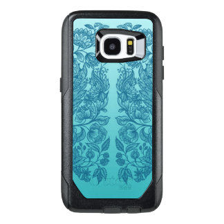 ornaments blue OtterBox samsung galaxy s7 edge case