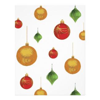 ornaments letterhead