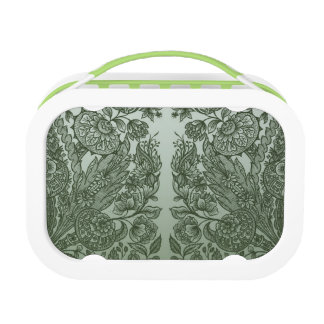 ornaments moss green lunch box