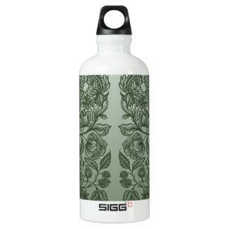 ornaments moss green water bottle