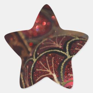 Ornaments Star Sticker