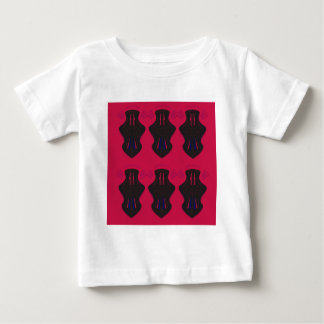 Ornaments vintage black red baby T-Shirt
