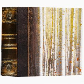 Ornate Antique Magical Forest Book Binder