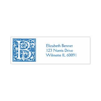 Ornate B Self-inking Stamp