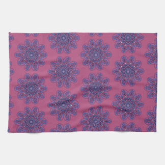 Ornate Boho Mandala Kitchen Towel