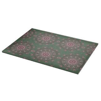 Ornate Boho Mandala Olive Boards