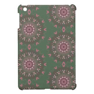 Ornate Boho Mandala Olive Cover For The iPad Mini