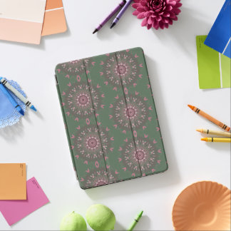 Ornate Boho Mandala Olive iPad Air Cover