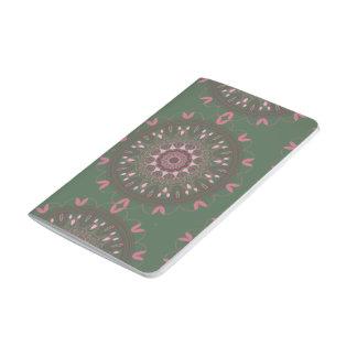 Ornate Boho Mandala Olive Journal
