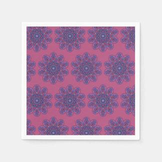 Ornate Boho Mandala Paper Napkins