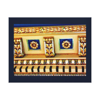 Ornate Ceiling Canvas Print