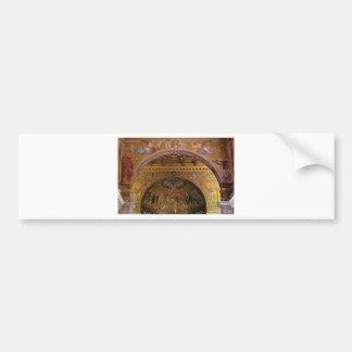ornate church inside bumper sticker