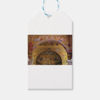 ornate church inside gift tags