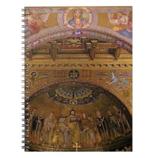 ornate church inside notebooks