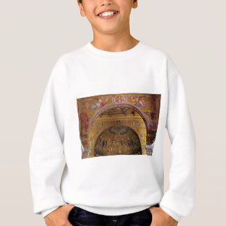 ornate church inside sweatshirt