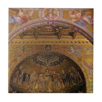 ornate church inside tile