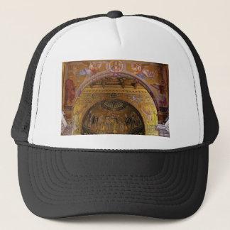 ornate church inside trucker hat