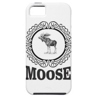 ornate circle moose case for the iPhone 5
