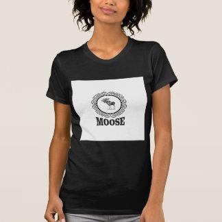 ornate circle moose T-Shirt