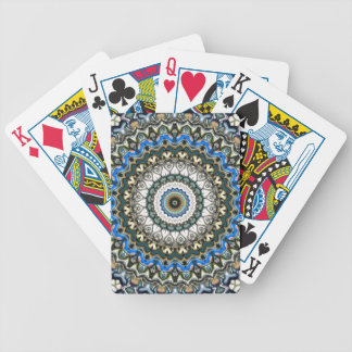 Ornate Colorful Mandala Bicycle Playing Cards
