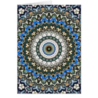 Ornate Colorful Mandala Card