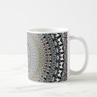 Ornate Concentric Abstract Coffee Mug