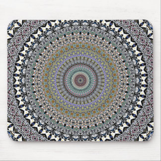 Ornate Concentric Abstract Mouse Pad