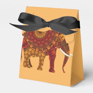 Ornate Decorated Indian Elephant Design Favor Box
