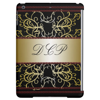 Ornate Elegance Dressy Fancy Fashion Monogrammed iPad Air Case