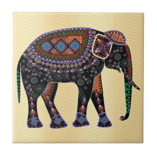 Ornate Elephant Tiles