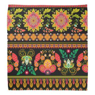Ornate Floral Bandanas