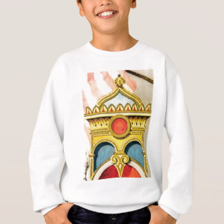 ornate frame sweatshirt