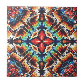 Ornate Geometric Colors Ceramic Tiles