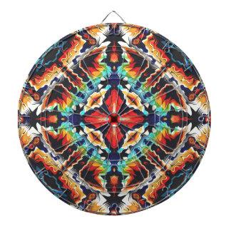 Ornate Geometric Colors Dartboard