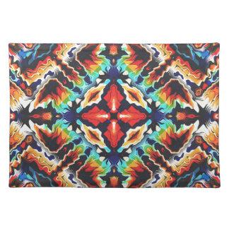 Ornate Geometric Colors Placemat
