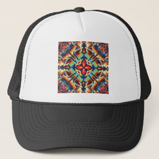 Ornate Geometric Colors Trucker Hat