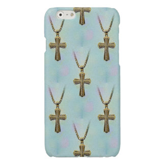Ornate Gold Cross and Chain