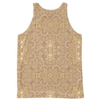 Ornate Golden Baroque Design
