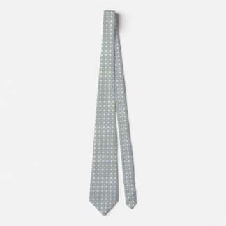 Ornate Green And Purple Pattern Tie