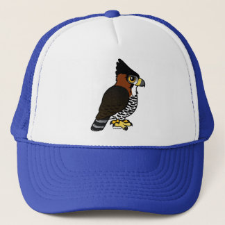 Ornate Hawk-Eagle Trucker Hat