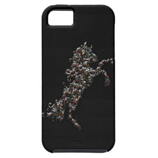 Ornate Horse - Multi Color v1 iPhone 5 Covers
