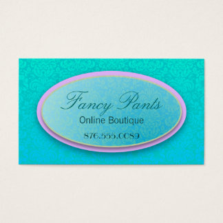 Ornate Lace Business Card