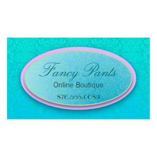 Ornate Lace Business Card Templates