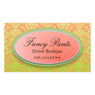 Ornate Lace Business Cards